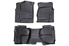 Max Floor Mats Vs Weathertech Heavy Duty Fitted Floor Mat Set Front Rear For 2014 2018