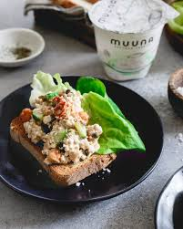 Cottage Dill Bread by Salmon Salad With Dijon Dill And Roasted Chickpeas