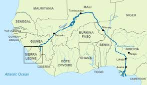 Map Of Sierra Leone Sierra Leone Africa Ahead