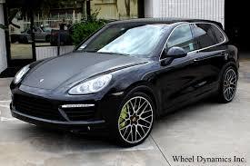 Porsche Macan Black Wheels - new gloss black 22