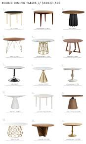 Crate And Barrel Folding Table by Best 20 Round Dining Tables Ideas On Pinterest Round Dining