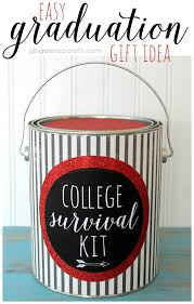 college graduation gift ideas for snap crafts college survival kit easy graduation gift