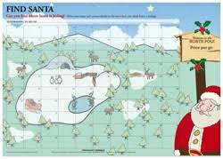 santa map santa treasure map loirston fundraising