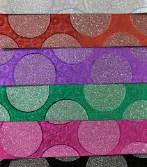 wholesale wrapping paper rolls designed glitter paper wholesale mixed colorful glitter wrapping paper