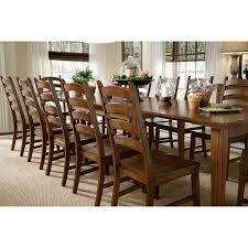 Amish Dining Room Furniture by A America Toluca Rectangular Extension Dining Table Rustic Amber