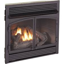 amazon com procom dual fuel fireplace insert zero clearance home