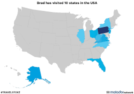 Ohio Travel Network images Brad has been to 10 us states matador network png