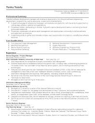 Professional Summary Resume Examples For Software Developer by Software Qa Engineer Resume Sample Plumbing Engineer Resume
