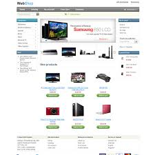 shopping cart templates free ecommerce templates download