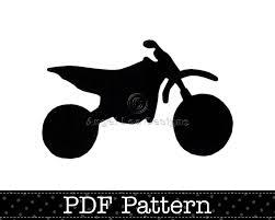 motocross dirt bikes for kids dirt bike applique template silhouette motocross motorbike