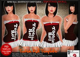 Tootsie Roll Halloween Costume Marketplace Thalia U0027s Fashion Templates Special