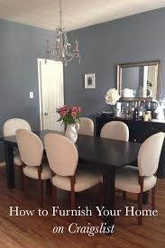 craigslist dining room set the rewm how to furnish your home on craigslist the rewm