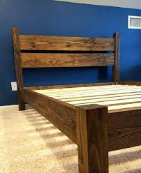 Premier Platform Bed Frame Platform Bed And Headboard Platform Four Post Bed Handcrafted