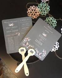 Wedding Program Fan Kits Do It Yourself Wedding Program Hand Paddle Fan Kit Select Buy Now