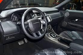 range rover autobiography interior 2016 range rover evoque autobiography dynamic geneva live