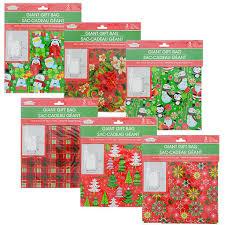 gift bags christmas bulk christmas house gift sacks at dollartree