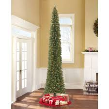 artificial christmas tree classic pine full pre lit christmas tree