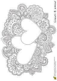 printable heart mandala coloring mediafoxstudio