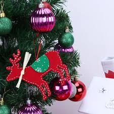 aliexpress buy tree ornaments non woven deer elk