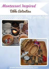 montessori inspired bible activities for kids montessori nature