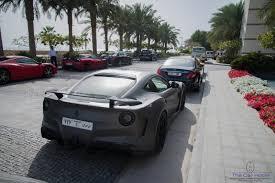 Ferrari F12 Matte Grey - ferrari f12 berlinetta novitec n largo f12 spotted in dubai