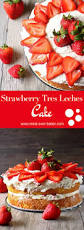strawberry tres leches cake http www mind over batter com