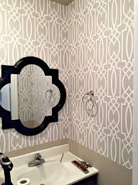 wallpaper in powder room archives a purdy little house