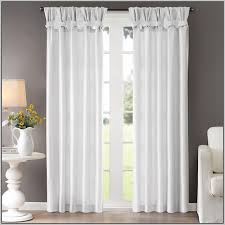 Tie Top White Curtains White Cotton Tab Top Curtains Uk Memsaheb Net