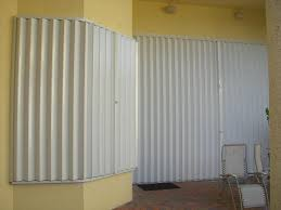 Accordion Curtain Hurricane Accordion Shutters Miami Nfc Aluminum