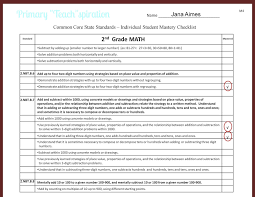 tracking student progress and mastery primary teachspiration