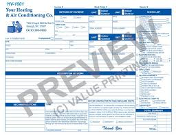 Air Conditioning Invoice Template by 51 Best Hvac Forms Images On Proposals Flat Rate And