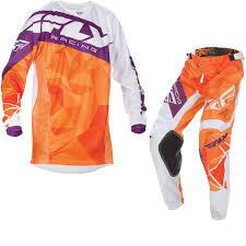 youth motocross gear fly racing 2017 kinetic crux youth motocross jersey u0026 pants orange