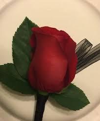 Red Rose Wrist Corsage Red Rose Wrist Corsage Greenery Google Search Prom Pinterest
