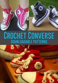 pattern crochet converse slippers crochet converse slippers free pattern video crochet converse