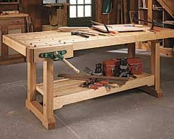 Plans For Building A Woodworking Bench by Workbench Plan Build The U003cem U003ewoodsmith U003c Em U003e Workbench