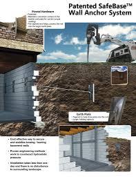 bowing basement wall repair lamunyon restoration