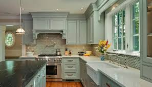 Grey Kitchen Cabinets With White Appliances White Kitchen Cabinets With Stainless Steel Appliances