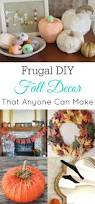 fall decor ideas frugal craft and fall decor