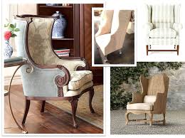Wing Back Chair Design Ideas Small Leather Wingback Chair Design 34 In Aarons Bar For Your Home