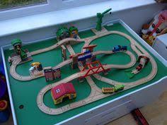 Thomas Train Table Plans Free by Like Ocean Glass Diy Train Table J U0027s Christmas List Pinterest