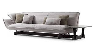 canapé cassina canapé modulable contemporain en tissu en cuir 550 beam