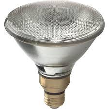 dimmable light bulbs lowes shop ge 75 watt dimmable soft white par38 halogen flood light bulb