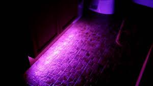 bathroom floor led lighting youtube