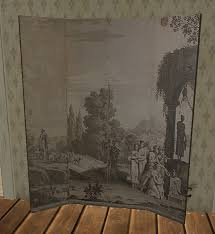 Antique Room Divider Second Life Marketplace Antique Grisaille Room Divider Privacy