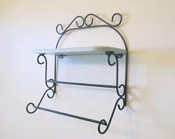 Shelves For The Bathroom Wire Shelf Etsy