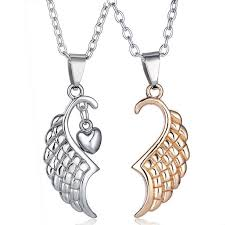 wings necklace pendant images Angel wings necklace fly star jewelry jpg
