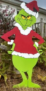 grinch outdoor decorations designcorner