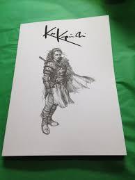sketchbook vol 1 karl kopinski collected sketches signed copy