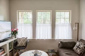 Linen Cafe Curtains Great Linen Cafe Curtains And Beautiful Linen Caf Curtains For