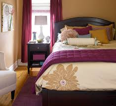 cozy color schemes for every room bedrooms colors and dark wood bed